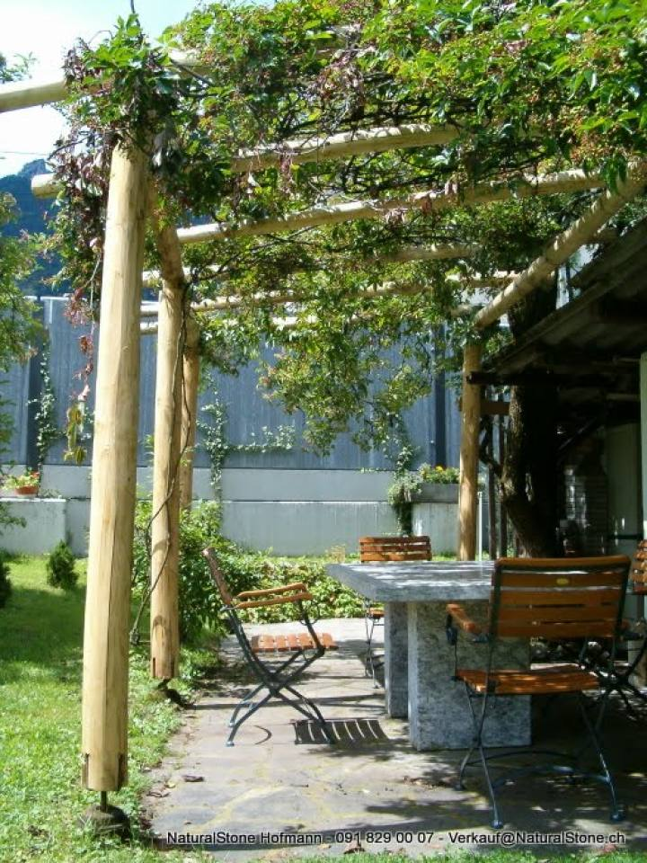 Holz Pergola Besmer Jpg Naturalstone Hofmann
