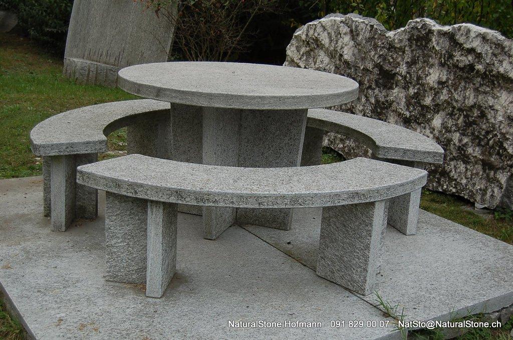 Tischgarnitur Moderno rund